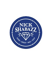 The Nick Logo Circle Magnet front