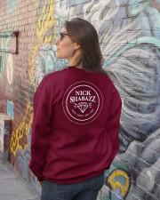 I am The Gem Hunter Crewneck Sweatshirt lifestyle-unisex-sweatshirt-back-2