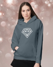 I am The Gem Hunter Hooded Sweatshirt lifestyle-holiday-hoodie-front-1