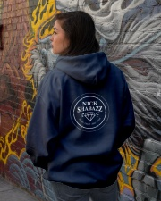 I am The Gem Hunter Hooded Sweatshirt lifestyle-unisex-hoodie-back-1