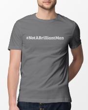 Not a Brilliant Man Premium Fit Mens Tee lifestyle-mens-crewneck-front-13