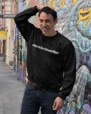 Not a Brilliant Man Crewneck Sweatshirt lifestyle-unisex-sweatshirt-front-4