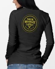 I am The Gem Hunter Long Sleeve Tee lifestyle-unisex-longsleeve-back-3