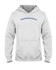Not A Brilliant Human Light Hooded Sweatshirt thumbnail