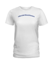 Not A Brilliant Human Light Ladies T-Shirt thumbnail