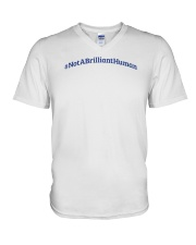 Not A Brilliant Human Light V-Neck T-Shirt thumbnail