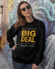 Big Deal Crewneck Sweatshirt lifestyle-unisex-sweatshirt-front-3