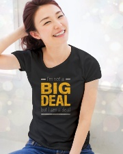 Big Deal Premium Fit Ladies Tee lifestyle-holiday-womenscrewneck-front-1
