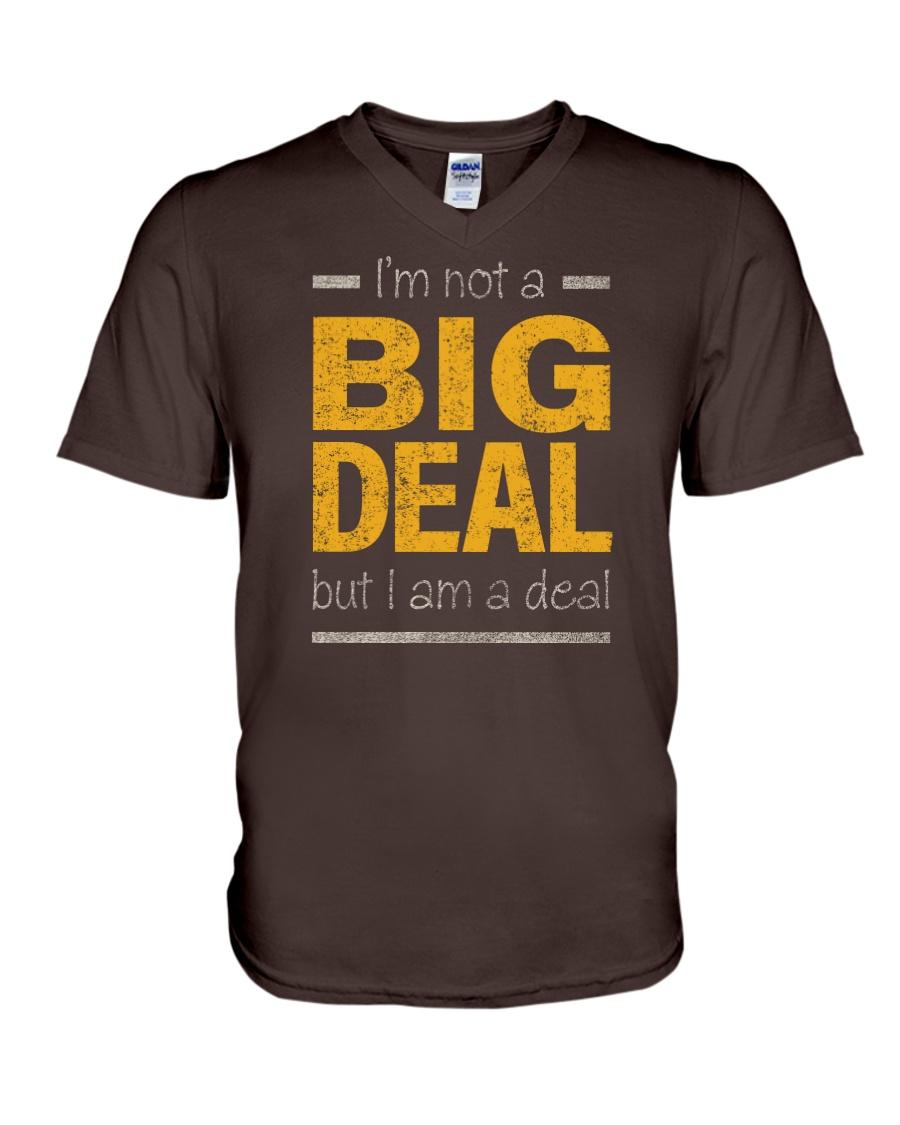 Big Deal V-Neck T-Shirt