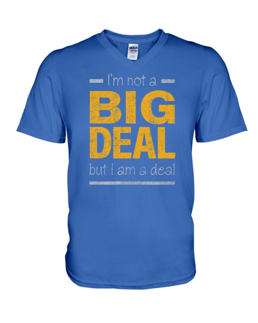 Big Deal V-Neck T-Shirt showcase