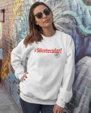 Slicetacular Crewneck Sweatshirt lifestyle-unisex-sweatshirt-front-3