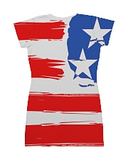 USA All Over Dress - Patriotic Dress With Soldier All-over Dress back