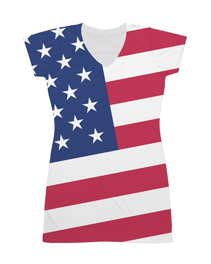 USA All Over Dress - Patriotic Dress All-over Dress