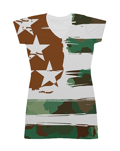 USA All Over Dress - Patriotic Dress Camouflage