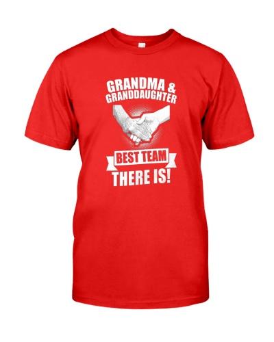 Grandma And Granddaughter Best Team