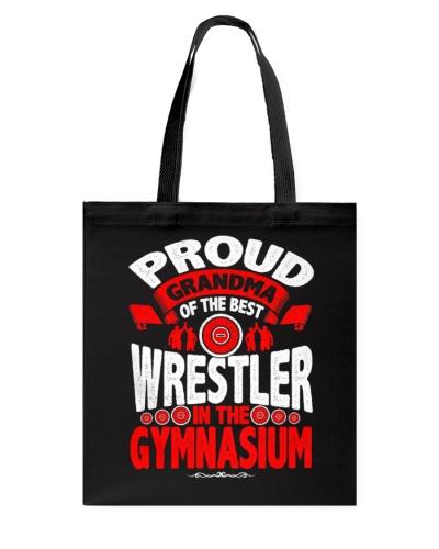 Proud Wrestling Grandma