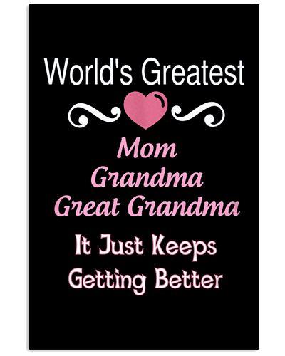 Greatest Mom Grandma Great Grandma