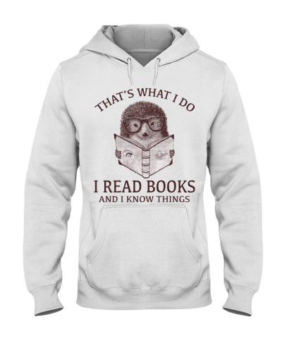 HEDGEHOG- I READ BOOKS AND I KNOW THINGS