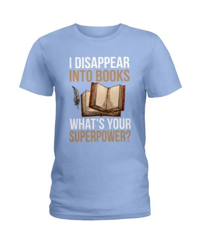 I Disappear Into Books