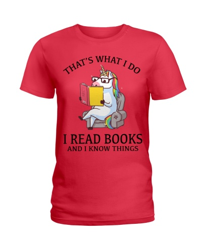 UNICORN - I READ BOOKS AND I KNOW THINGS