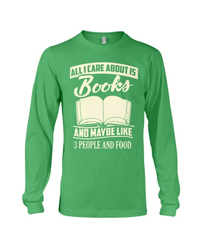 ALL I CARE ABOUT IS BOOKS