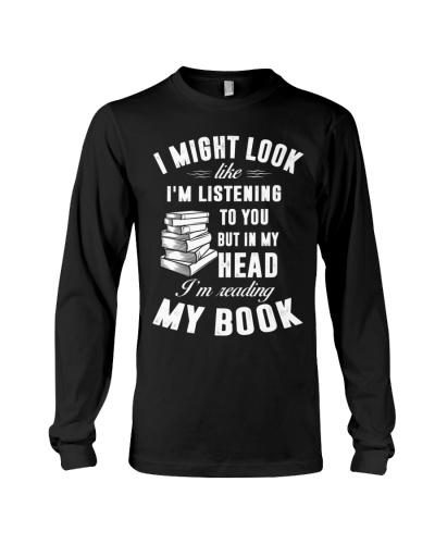 I'M READING MY BOOK