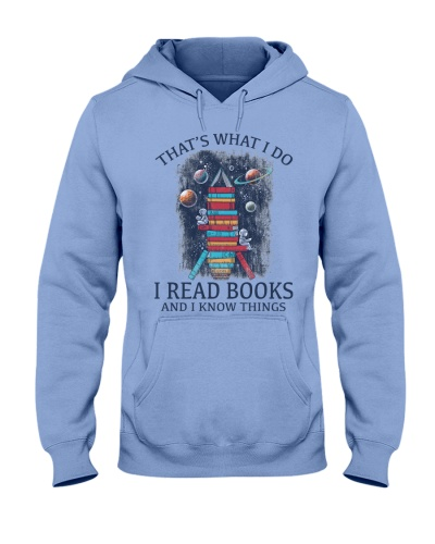 I READ BOOKS AND I KNOW THINGS