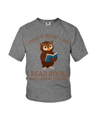OWL - I READ BOOKS AND I KNOW THINGS