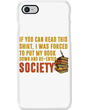 I Was Forced To Put My Book Down Phone Case i-phone-7-case