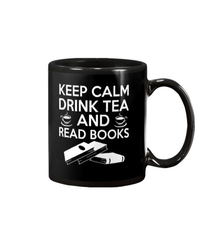 DRINK TEA AND READ BOOKS