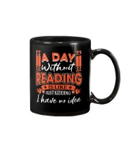 A DAY WITHOUT READING 2 Mug front