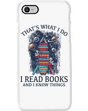 I READ BOOKS AND I KNOW THINGS V5 Phone Case i-phone-7-case