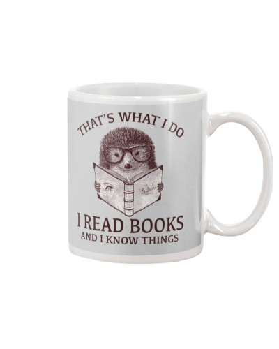 HEDGEHOG- I READ BOOKS AND I KNOW THINGS 2
