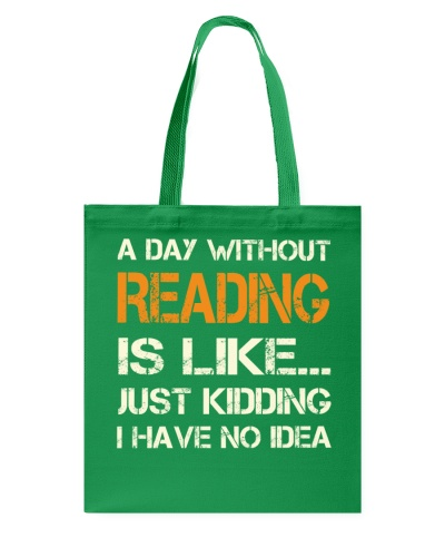 A DAY WITHOUT READING