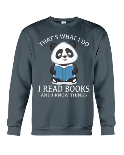 Panda - I Read Books And I Know Things