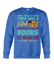 THERE WAS A GIRL Crewneck Sweatshirt front