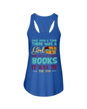 THERE WAS A GIRL Ladies Flowy Tank front