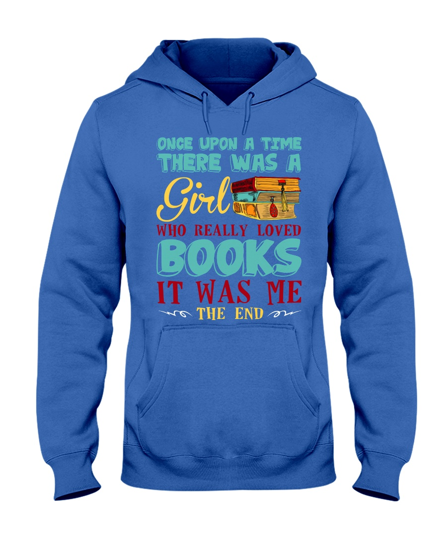 THERE WAS A GIRL Hooded Sweatshirt