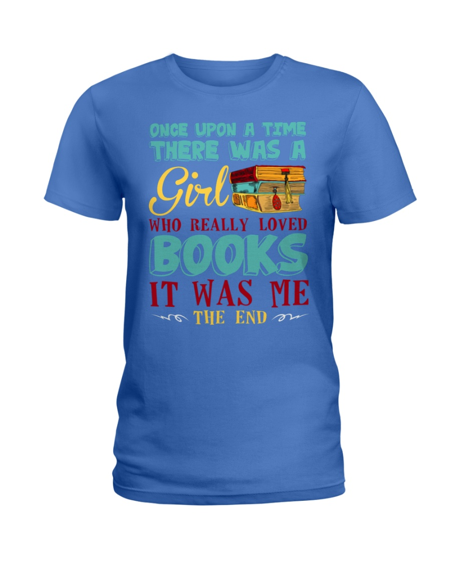 THERE WAS A GIRL Ladies T-Shirt