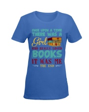 THERE WAS A GIRL Ladies T-Shirt women-premium-crewneck-shirt-front