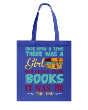 THERE WAS A GIRL Tote Bag front