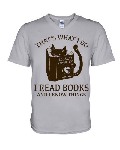 CAT - I READ BOOKS AND I KNOW THINGS