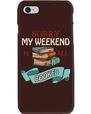 My Weekend Is All Booked Phone Case thumbnail