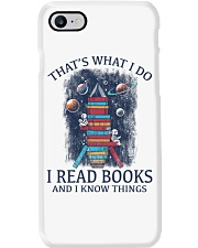 I READ BOOKS AND I KNOW THINGS 2 Phone Case thumbnail