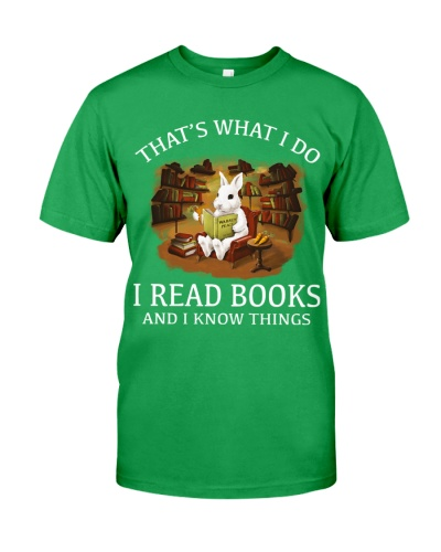 RABBIT - I READ BOOKS