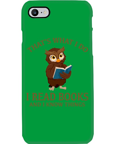 OWL - I READ BOOKS AND I KNOW THINGS 2