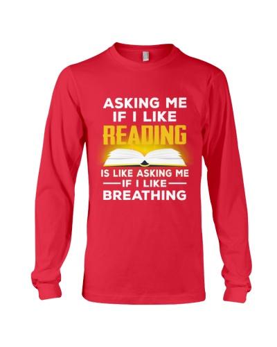I LIKE READING AND BREATHING