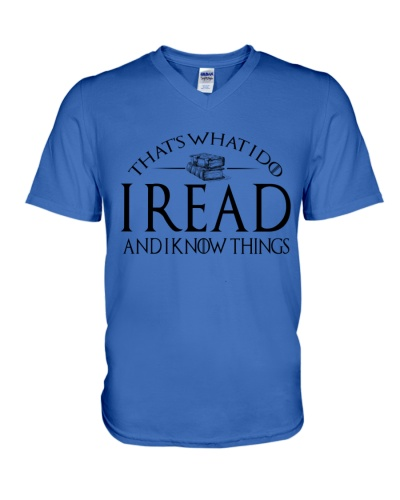 I READ AND I KNOW THINGS 7