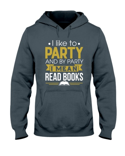 I LIKE TO PARTY - READ BOOKS