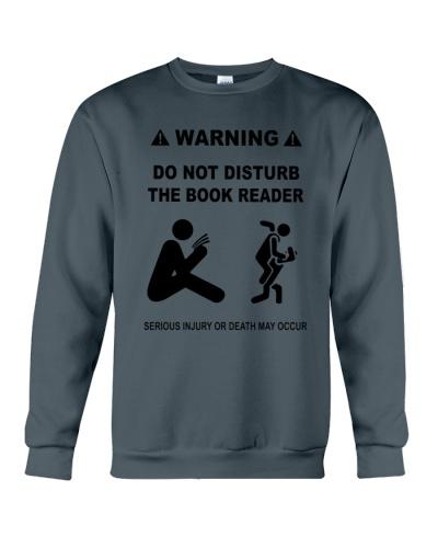 DO NOT DISTURB THE BOOK READER